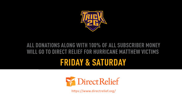Hurricane Matthew Relief Stream